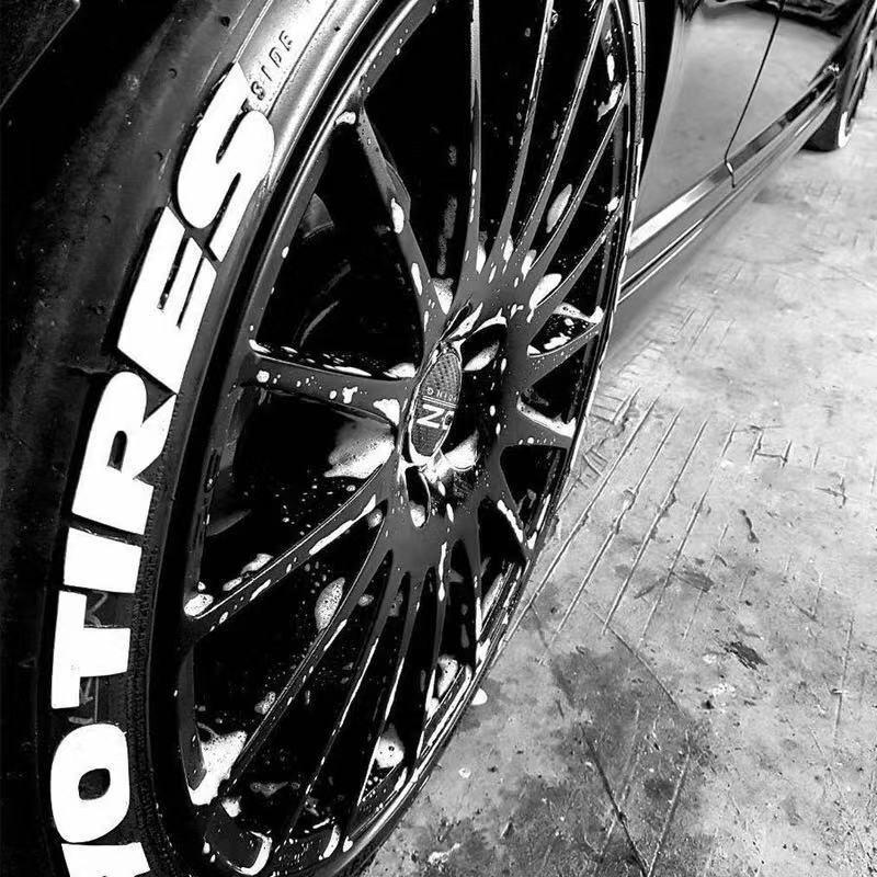 1 Piece Tire Car Tire Wheel Sticker Car Reflective Sticker Car Modification Universal 3D Logo Car Motorcycle Tire Sticker Auto P