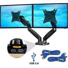 Ergonomic-Monitor North Bayou F160 Full-Motion 2-9kg-Screen Adjustable Dual Tilt NB