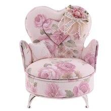 1/6 весы куклы диван кресло, мебель шкатулка для украшений модель