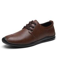 Shoes Oxfords Black Breathable Men's Fashion Lace-Up