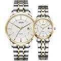 Роскошные брендовые французские часы AILUO для пары  японские кварцевые женские наручные часы MIYOTA с механизмом  ультратонкие сапфировые часы ...
