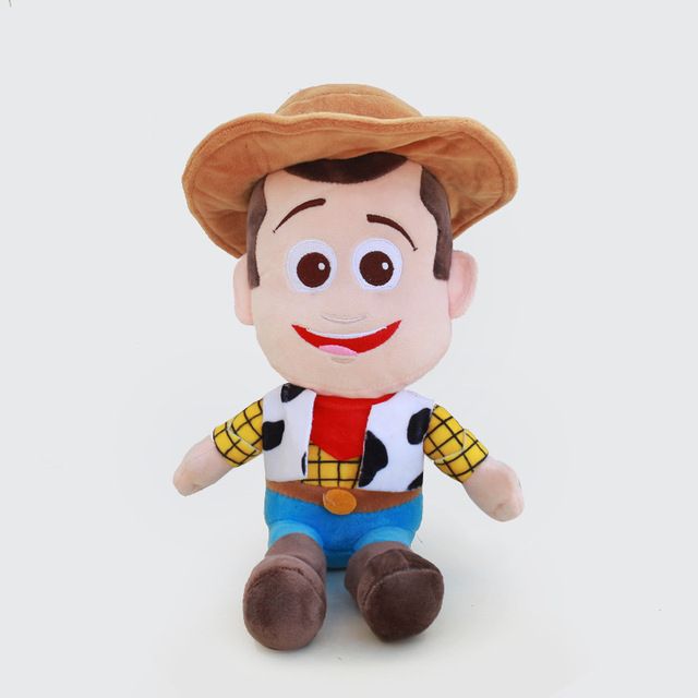 20cm Toy Story 4 Woody Buzz Lightyear Soft Plush toy Stuffed Doll Figure Toys for Children Cartoon Kids  Gifts 1pcs