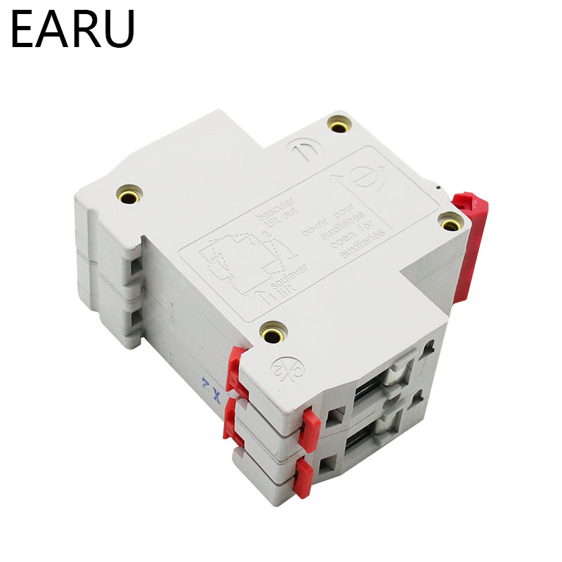 H1be1465f53404daa9ff0c0bf9b732e02W - DZ47 1-4 Pole 3A/6A/10A/16A/20A/32A/40A/50A/63A 400V C Type Mini Circuit Breaker MCB 35mm Din Rail Mount Breaking Capacity 6KA