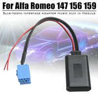 Bluetooth Adapter Audio Zubehör AUX Musik Modul Kabel Für Alfa Romeo 147 156 159 Brera Mito, auto Ersatz Aux Stereo