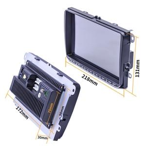 Image 3 - 2Din 9 بوصة أندرويد 9.1 سيارة مشغل وسائط متعددة لتحديد المواقع والملاحة ستيريو راديو لاعب واي فاي للجولف MK5 سكودا باسات B6