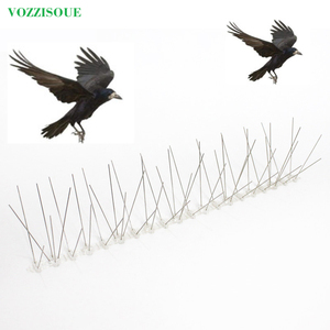Image 1 - Hot 7M Bird and Pigeon Spikes Pest Repeller Anti Bird Pigeon Spike for Get Rid of Pigeons and Scare Birds Pest Control 60 Thorns