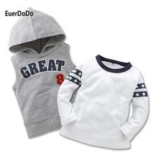 2020 Brand Boys Girls Hoodies Children Cartoon Sweatshirts Letter Printed Cotton Pullover Toddler Baby Autumn Winter Clothing