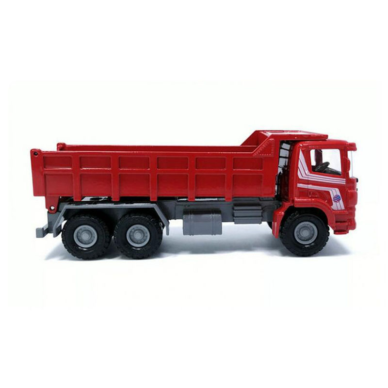 1/60 Scale Diecast Alloy Metal Excavator Dump Truck Wheel Engineering Construction Vehicle Car Model Toy Collections