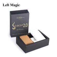Steam 2.0 por paul harris truques mágicos estágio engraçado ilusões mágicas mentalismo festa magia truque adereços acessórios para mágicos