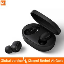 Original Xiaomi Redmi AirDots Wireless Bluetooth 5.0 Headset In-Ear Stereo Bass Headsetc Mi Ture Wireless Earbuds Global Version()