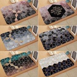 Nordique anti-dérapant cuisine tapis moderne bain tapis entrée paillasson Tapete absorbant tapis pour chambre tapis de prière décor de noël
