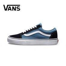 Luxury brand Authentic Vans Old Skool Men Canvas Sneakers Red Black Comfortable Outdoor Women Skateboarding Shoes Size 36-44