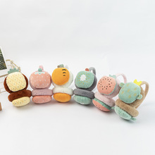 Winter Cute Fruit Ear Warmers Plush Carrot Strawberry Ear Cover Earmuffs Headband Earmuff Warm and Comfortable Headphones