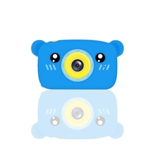 Portable Children 1300W HD Digital Camera Cute Cartoon Bear