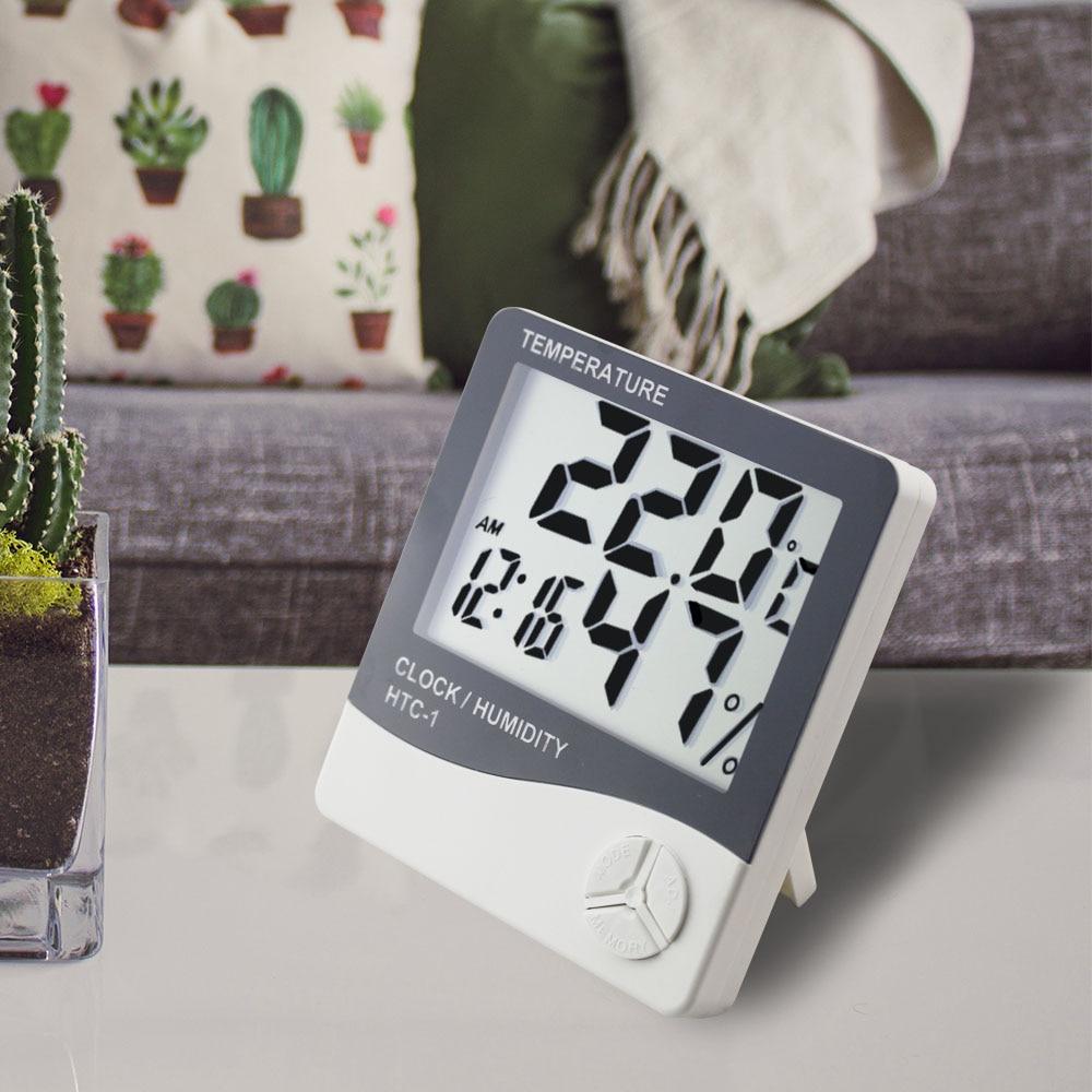 Meteorologinė stotis HTC-1 / HTC-8 Vidinis skaitmeninis termometras - Matavimo prietaisai - Nuotrauka 3