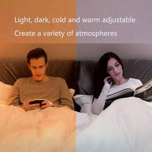 Image 4 - 2020 Yeelight חכם LED הנורה 800lm RGB E27 אלחוטי קול שליטה חכם WiFi App Apple Homekit שלט רחוק צבעוני נורות