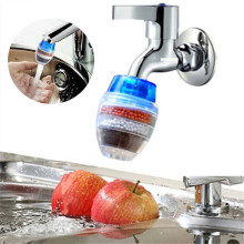 WATER-CLEAN-FILTER Purifier Faucet Cartridge Filtration Carbon Tap Home Kitchen Household