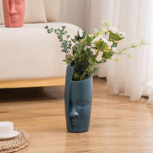 European Style Vase Decoration Home Decoration Anti-ceramic Plastic Vase Unbroken Wedding Hydroponic Flower Arrangement Modern 4