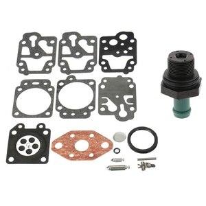 1 Set Carburetor Repair Rebuild KIT & 1 Pcs Car Positive Crankcase Ventilation PCV Valve Check Valve Exhaust Valve