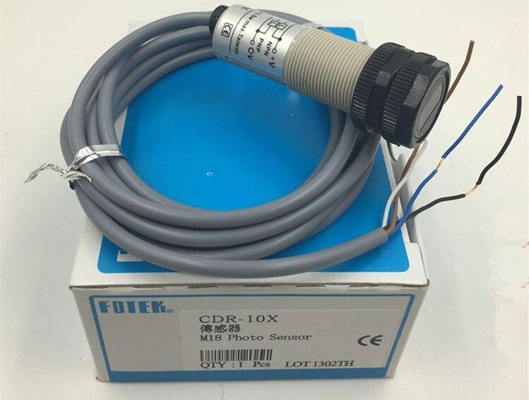 CDR-10X fotek novo tipo tubular m18 sensor