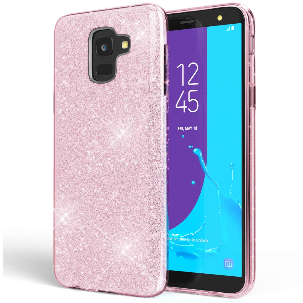 Luxury Samsung Galaxy Glitter case for Girls and Women Makeup Sparkle Bling Cover for J2 3 4 5 6 7 and A5 6 7 8 10 30 40 50 70 image