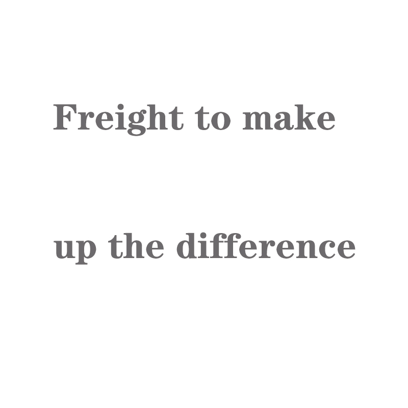 Freight Make Up The Difference, Freight Special Shooting, Please Contact The Seller To Place An Order