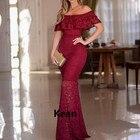 Lace Evening Dress M...