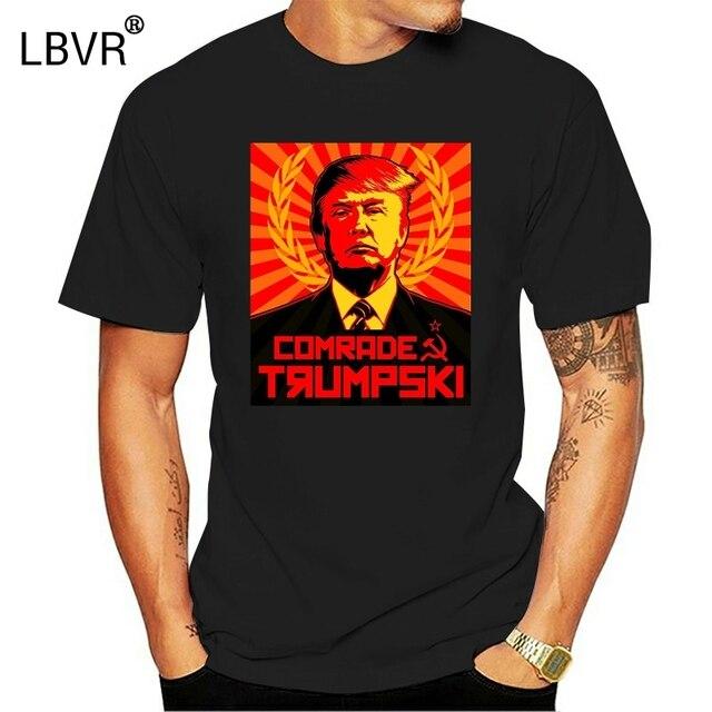 2020 модная популярная футболка с надписью «товарищ Trumpski»