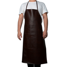 Leather Cooking Baking Aprons Waterproof Oil-Proof Kitchen Apron Restaurant Aprons For Women Home Sleeveless Apron rainbow unicorn waterproof cooking baking apron