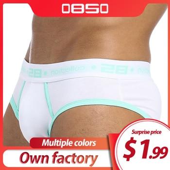 ORLVS Brand Men Briefs Underwear Sexy Breathable Brief Underpants Modal Comfortable Shorts Cueca Male Panties - discount item  21% OFF Men's Underwears
