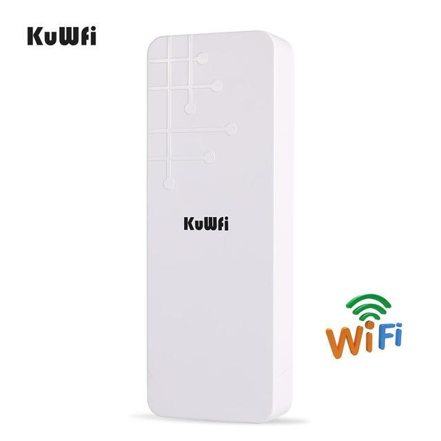 KuWFi Открытый CPE маршрутизатор Wifi расширитель Qualcomm 9531 скорость до 300 Мбит/с беспроводной CPE стабилизированный корпус с IP65 водонепроницаемый
