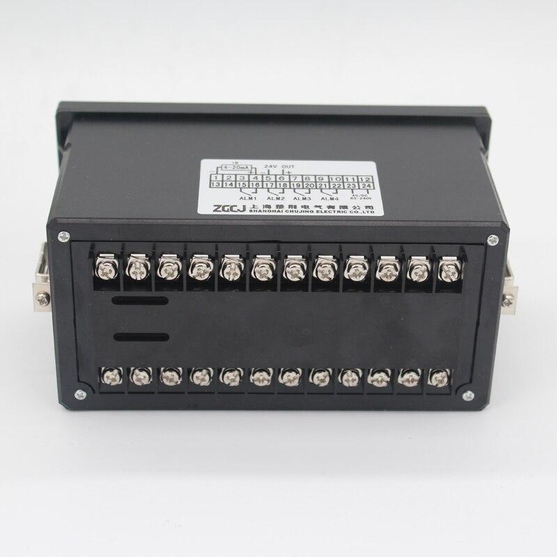 Контроллер уровня воды с 0-5 м датчик уровня жидкости глубина Передатчик датчик глубины воды контроллер с 4 релейным выходом