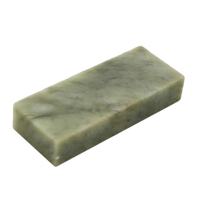 10000 Grit Sharpener Stone Polishing Whetstone Nature Jade Oil Stone for Knife Razor  Sharpening Stone Super Fine