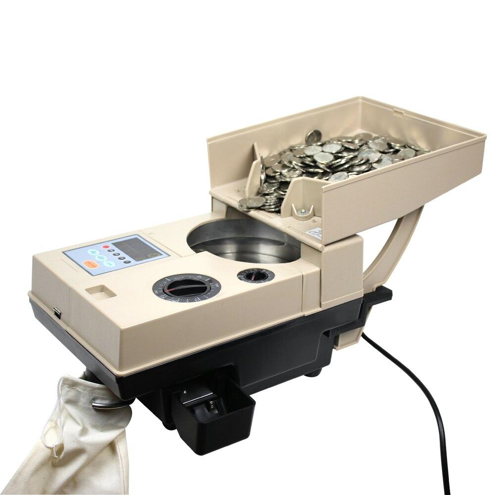 da máquina de contagem das moedas de alta velocidade 1500 pcs min