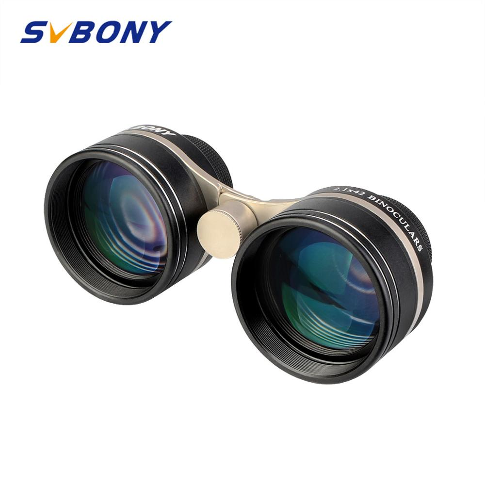 SVBONY SV407 2.1x42mm 26-Degree Super Wide Binoculars Astronomical Telescope for Stellar observation and Theater Perform 1