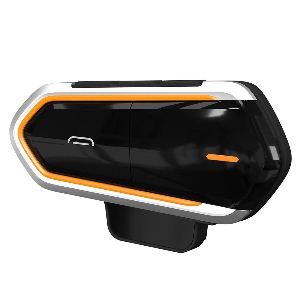 Motorcycle Helmet Intercom Wireless Bluetooth Helmet Headset Headphones Handsfree Waterproof FM MP3 For Outdoor Sports