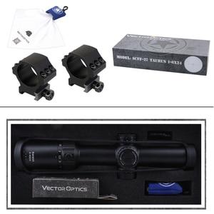 Image 5 - متجه البصريات الثور 1 6x24 FFP الصيد Riflescope التكتيكية نطاق بصري 1/5 ميل 6 مستويات الأحمر BDC ل CQB AR .223 .308win الفجر