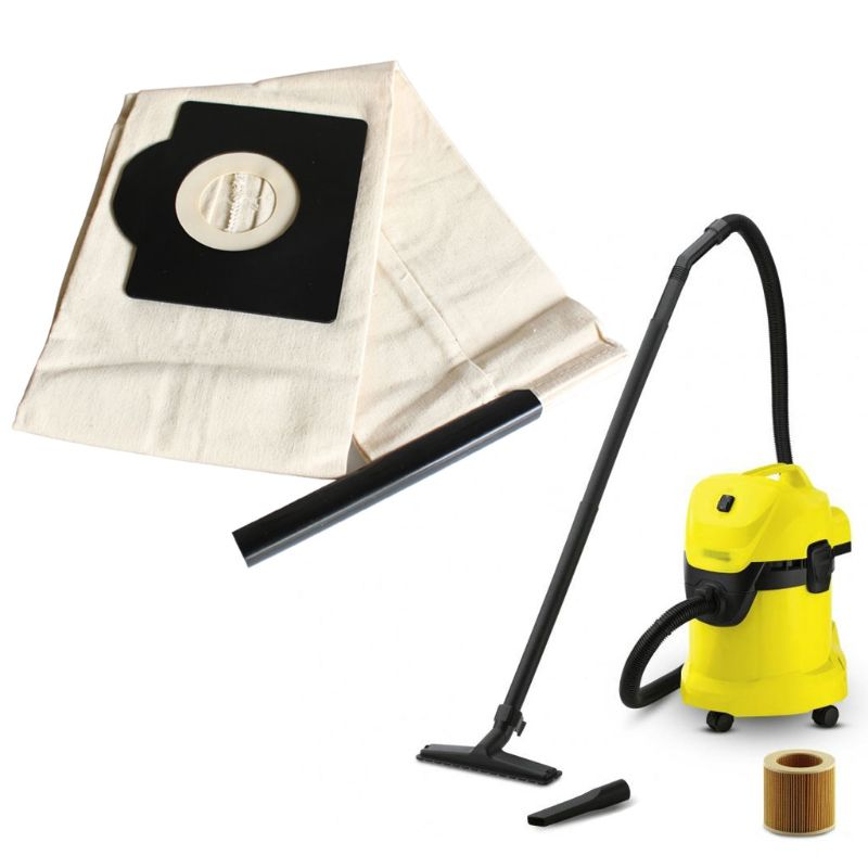 Vacuum Cleaner Dust Bag For Karcher A2204 WD3200 For Rowenta RU100 RB820 Series