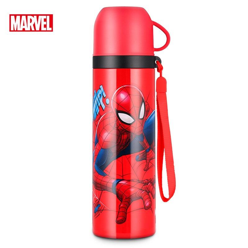 500ml meninos termostato disney isolamento mickey garrafa de agua bebe favorito vacuo dos desenhos animados copo