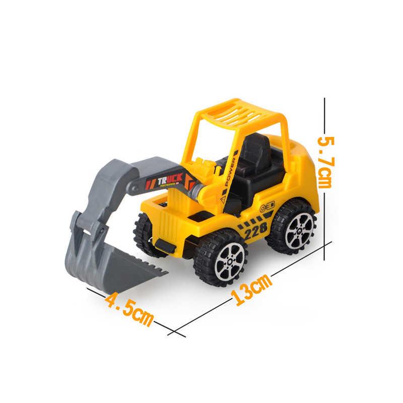 1pcs 새로운 밥 빌더 장난감 자동차 엔지니어링 플라스틱 자동차 모델 자동차 클래식 컬렉션 장난감 다른 종류에서 보내기