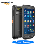 IssyzonePOS Handheld Android PDA Scanner Pos Terminal 2D Barcode PDA Rugged Scanner 4G WiFi GPS Bluetooth NFC PDA Data Collector