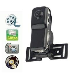 Mini câmera pequena micro vídeo 480 p corpo câmera portátil gravador de áudio de voz bolso cam wearable bicicleta dvr suporte net-câmera