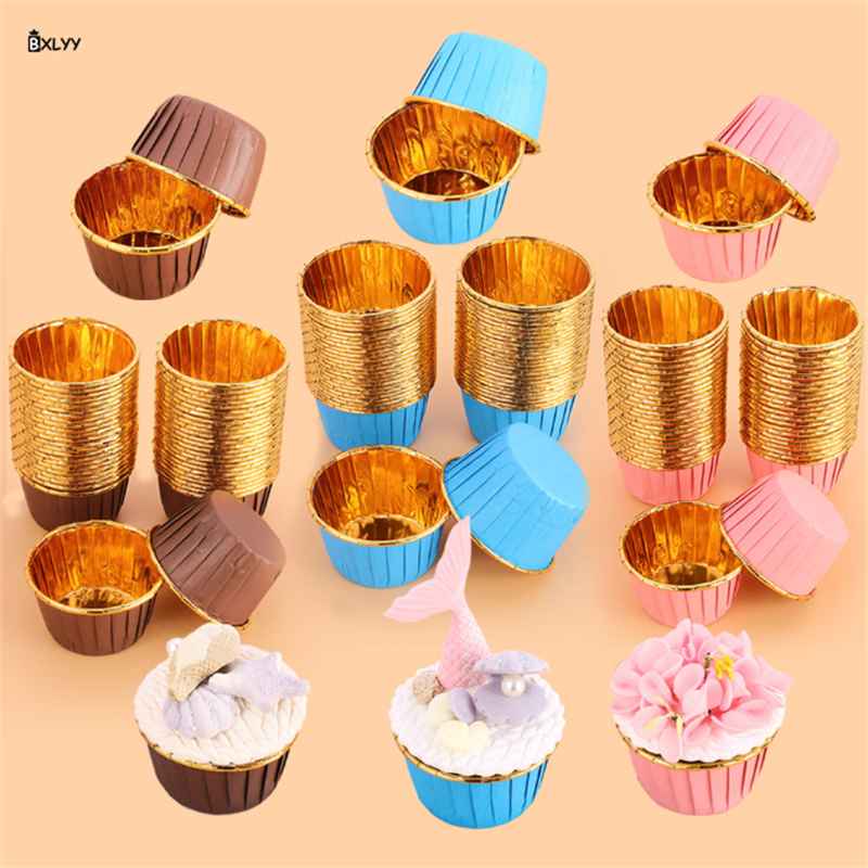 25pc Cake Muffin Cup Baking Tools for Cakes Bakery Tools Baking Accessories Chocolate Mold Fondant Molds Bakeware Cake Tools.75