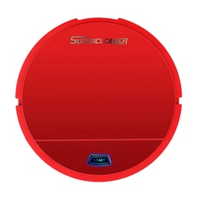 Robot Vacuum Cleaner Wet Sweeper Dust Dry and Floor Smart Automatic Battery Edition