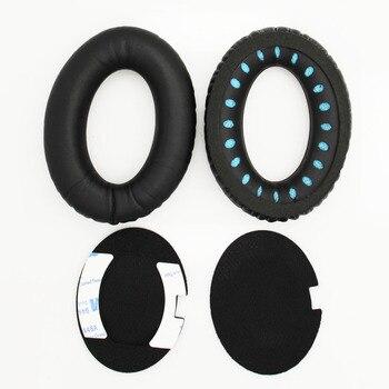 Almohadillas para orejas de repuesto para BOSE QC2 QC25 QC35 QC15 AE2 AE2i 2w almohadillas para auriculares para mayor comodidad y calidad de sonido Yw #