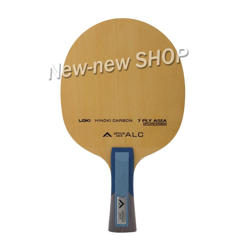 Локи для настольного тенниса LOKI Arthur ASIA ALC, профессиональная 7 слойная карбоновая ракетка для пинг понга Hinoki, ракетка для настольного тенниса