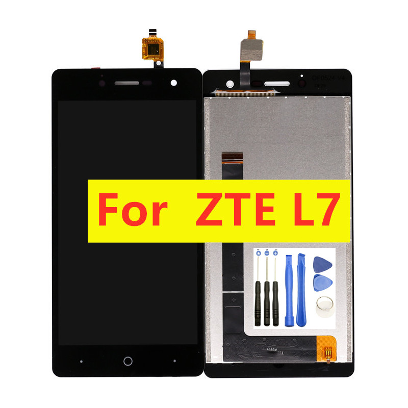 For ZTE L7 <font><b>LCD</b></font> Screen Display For ZTE Blade L7 <font><b>A320</b></font> <font><b>LCD</b></font> Display Touch Screen Digitizer Assembly Replacement With Tools image