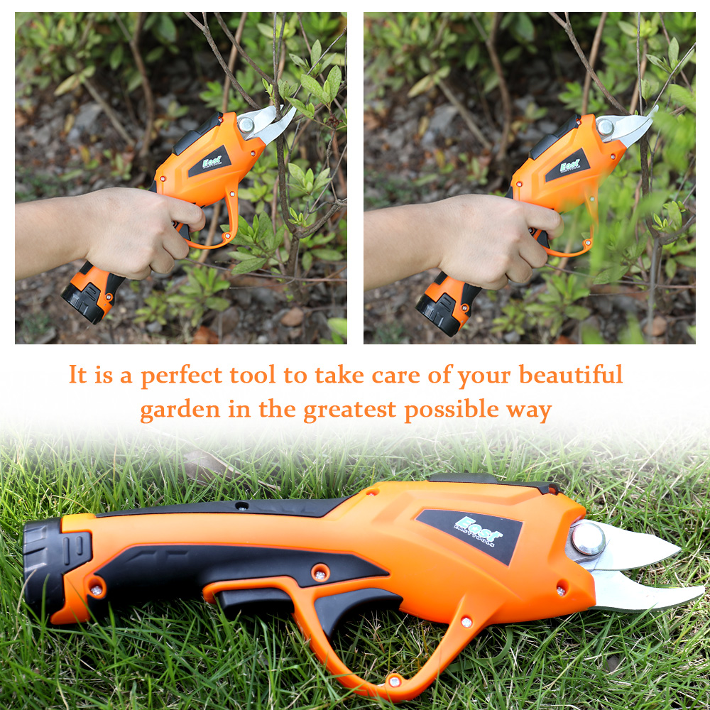 Pruning Cordless Lawn Cutter Shear Trimmer Home For Tree Scissors Garden Rechargeable Hedge Mower Branches Electric Grass Fruit