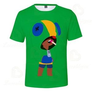 Image 3 - 2 To 13 Years Kids T shirt Shooting Game Kids Boys Girls Short Sleeve tshirt T Shirt Streetwear Cartoon Children T shirt Tops