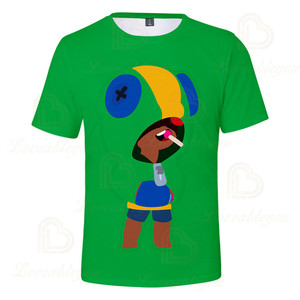 Image 3 - 2 ila 13 yıl çocuklar T shirt çekim oyunu çocuklar erkek kız kısa kollu tshirt T Shirt Streetwear karikatür çocuk t shirt